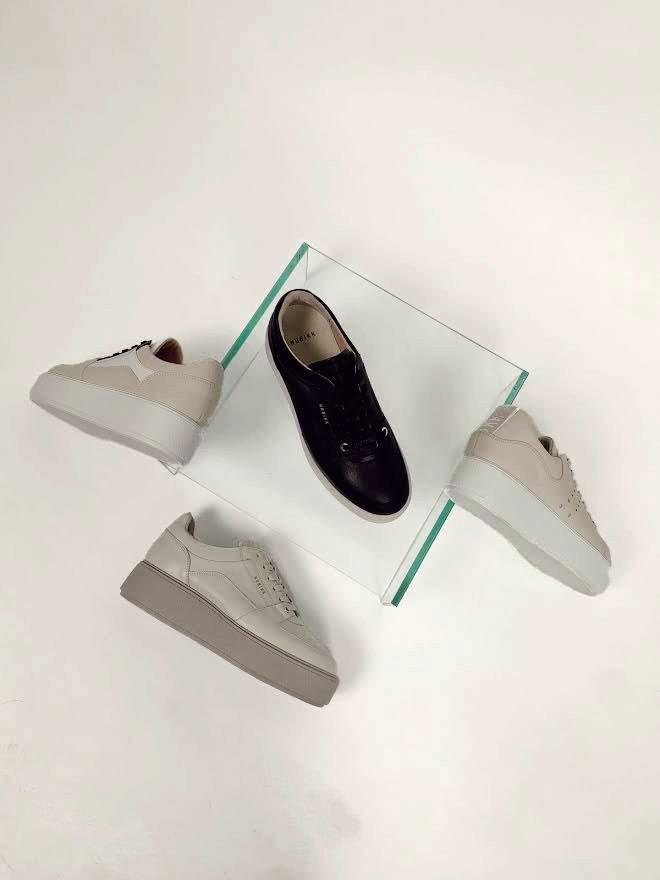 Plateau Damen-Sneakers von Nubikk