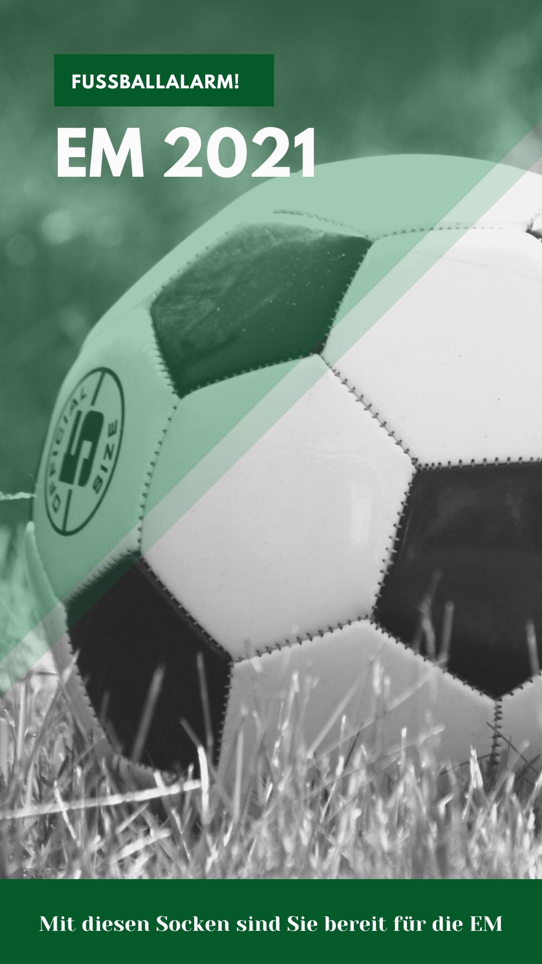 Fußballalarm: mit diesen Socken sind Sie bereit für die EM