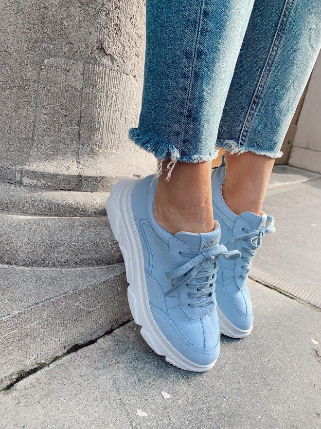 Pastellfarbene Sneakers für Damen